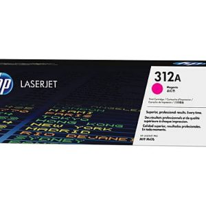 Genuine HP 312A (CF382A) Yellow toner cartridge - 2,700 pages