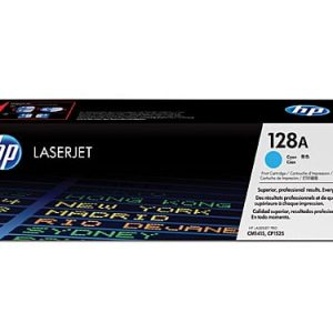 Genuine HP 128A (CE321A) Cyan toner cartridge - 1,300 pages