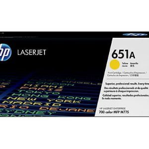 Genuine HP 651A (CE343A) Magenta toner cartridge - 16,000 pages