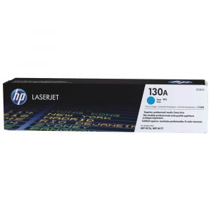 Genuine HP 130A (CF351A) Cyan toner cartridge - 1,000 pages