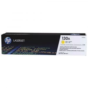Genuine HP 130A (CF352A) Yellow toner cartridge - 1,000 pages
