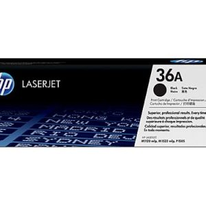 Genuine HP 36A (CB436A) Black toner cartridge - 2,000 pages