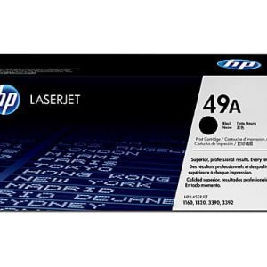 Genuine HP 49A (Q5949A) Black toner cartridge - 2,500 pages