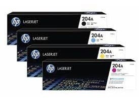 Genuine HP 204A (CF513A) Magenta toner cartridge - 1,400 pages
