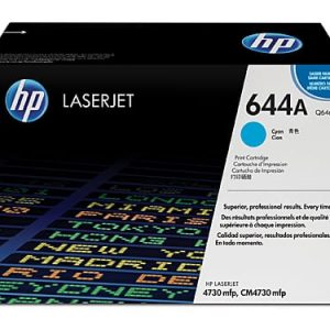 Genuine HP 644A (Q6461A) Cyan toner cartridge - 12,000 pages