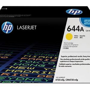 Genuine HP 644A (Q6462A) Yellow toner cartridge - 12,000 pages