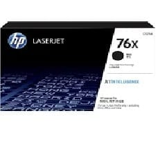 Genuine HP 76X (CF276X) Black toner cartridge - 10,000 pages