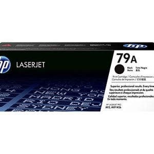 Genuine HP 79A (CF279A) Black toner cartridge - 1,000 pages