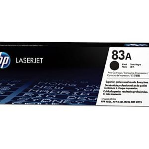 Genuine HP 83A (CF283A) Black toner cartridge - 1,500 pages