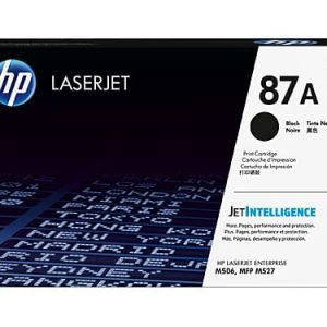 Genuine HP 87A (CF287A) Black toner cartridge - 9,000 pages