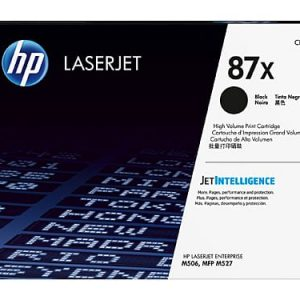 Genuine HP 87X (CF287X) Black High Yield toner cartridge - 18,000 pages