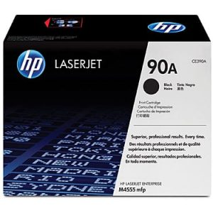 Genuine HP 90A (CE390A) Black toner cartridge - 10,000 pages