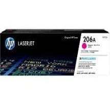 Genuine HP206A (W2113A) Magenta toner cartrtdge - 1,250 pages