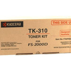 Genuine Kyocera TK-310 Black toner cartridge - 12,000 pages