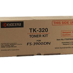 Genuine Kyocera TK-320 Black toner cartridge - 15,000 pages