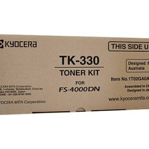 Genuine Kyocera TK-330 Black toner cartridge - 20,000 pages