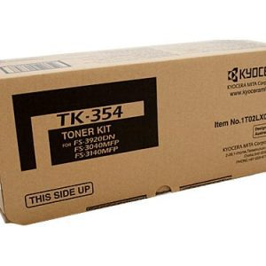Genuine Kyocera TK-354 Black toner cartridge - 15,000 pages