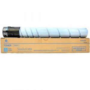 Genuine KM Bizhub TN-512 Cyan toner cartridge - 26,000 pages