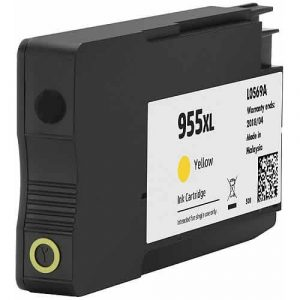 Compatible HP 955XL (L0S69AA) Yellow High Yield ink cartridge - 1,600 pages