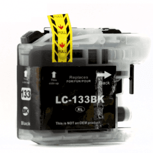 Compatible Brother LC-131/133 Black ink cartridge - 800 pages