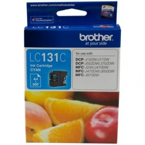 Genuine Brother LC-131 Cyan ink cartridge - 300 pages