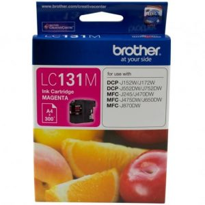 Genuine Brother LC-131 Magenta ink cartridge - 300 pages