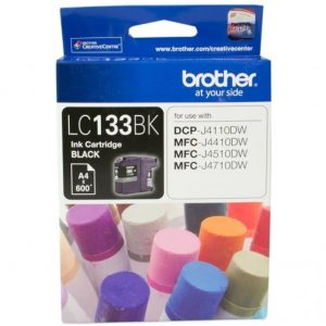 Genuine Brother LC-133 Black ink cartridge - 600 pages