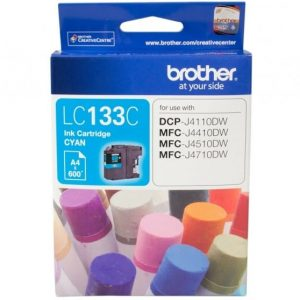 Genuine Brother LC-133 Cyan ink cartridge - 600 pages