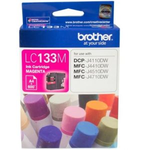 Genuine Brother LC-133 Magenta ink cartridge - 600 pages