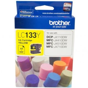 Genuine Brother LC-133 Yellow ink cartridge - 600 pages