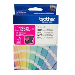 Genuine Brother LC-135XL Magenta ink cartridge - 1,200 pages