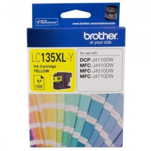Genuine Brother LC-135XL Yellow ink cartridge - 1,200 pages
