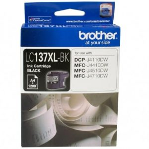 Genuine Brother LC-137XL Black ink cartridge - 1,200 pages