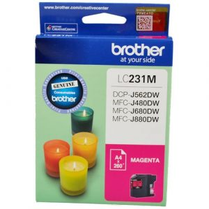 Genuine Brother LC-231 Magenta ink cartridge - 260 pages