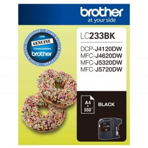 Genuine Brother LC-233 Black ink cartridge - 550 pages