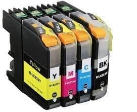 Compatible Brother LC-233 Cyan High Yield ink cartridge - 550 pages
