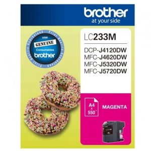 Genuine Brother LC-233 Magenta ink cartridge - 550 pages