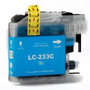 Compatible Brother LC-235XL Cyan High Yield ink cartridge - 1,200 pages