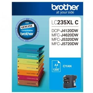 Genuine Brother LC-235XL Cyan ink cartridge - 1,200 pages