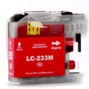 Compatible Brother LC-235XL Magenta High Yield ink cartridge - 1,200 pages