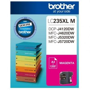 Genuine Brother LC-235XL Magenta ink cartridge - 1,200 pages