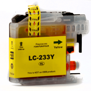 Compatible Brother LC-235XL Yellow High Yield ink cartridge - 1,200 pages