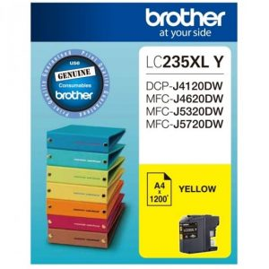Genuine Brother LC-235XL Yellow ink cartridge - 1,200 pages