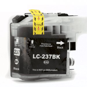 Compatible Brother LC-237XL Black High Yield ink cartridge - 1,200 pages