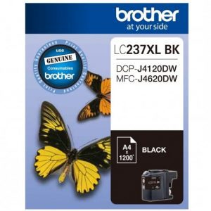 Genuine Brother LC-237XL Black ink cartridge - 1,200 pages