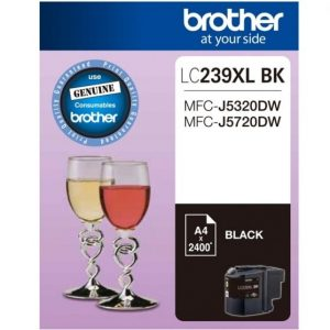 Genuine Brother LC-239XL Black ink cartridge - 1,200 pages