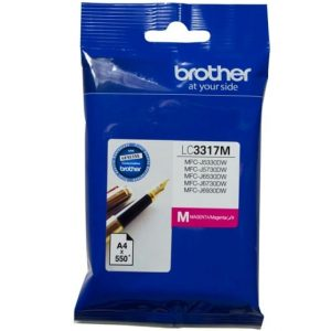 Genuine Brother LC-3317 Magenta ink cartridge - 550 pages