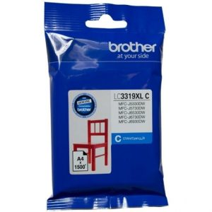 Genuine Brother LC-3319XL Cyan ink cartridge - 1500 pages