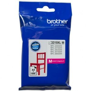 Genuine Brother LC-3319XL Magenta ink cartridge - 1500 pages