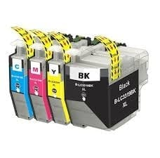 Compatible Brother LC-3319XL Value Pack 4pk (B,C,M,Y) ink cartridge - see singles for yield